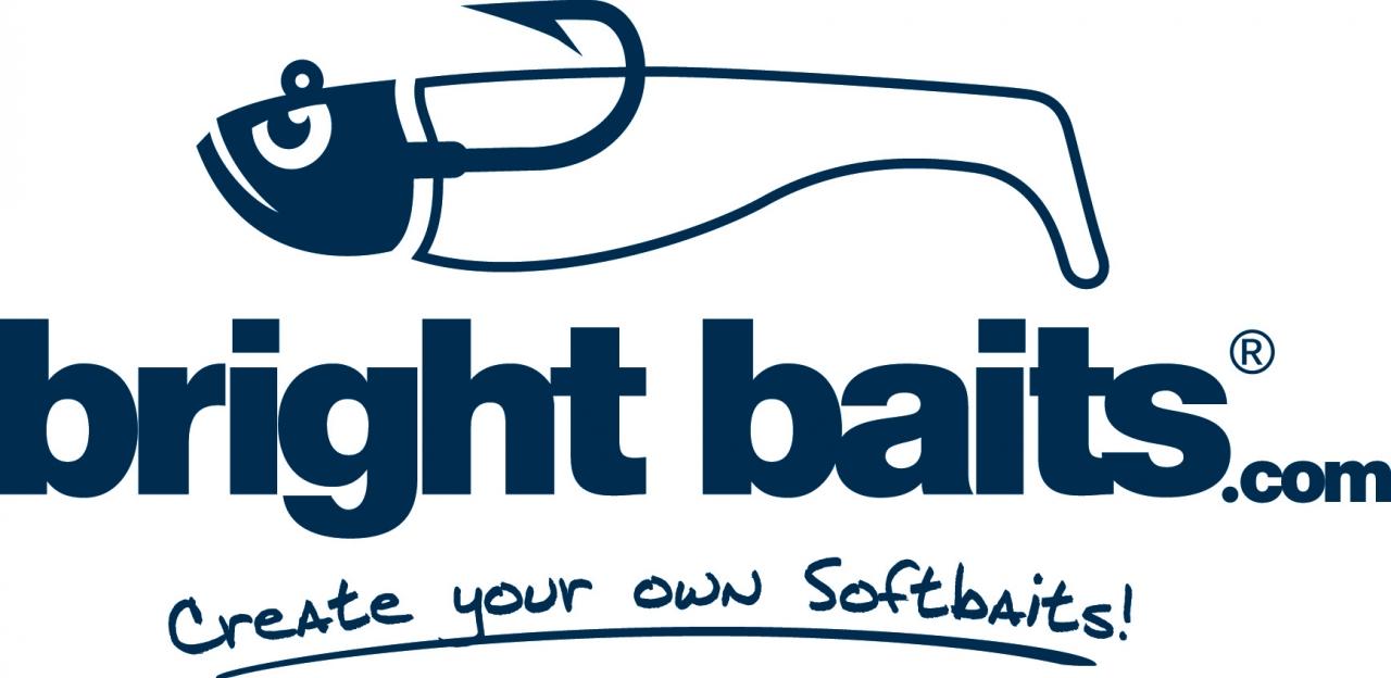 Bright Baits Logo JD font