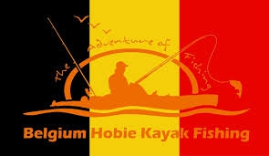 belgium hobie kayak fishing
